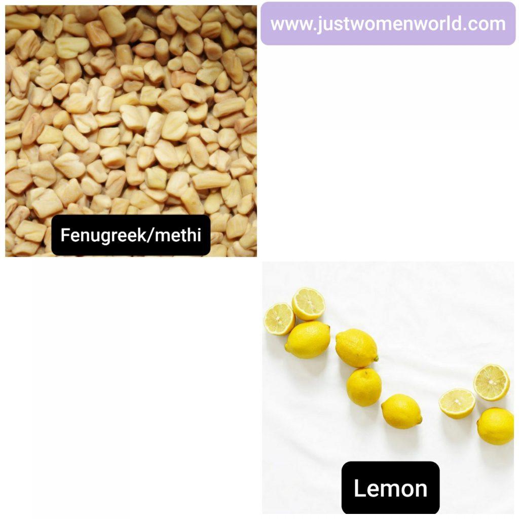 fenugreek-and-lemon